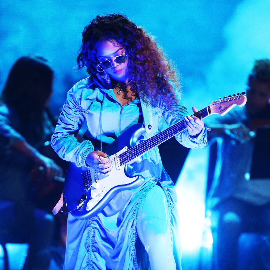 H.E.R Performing