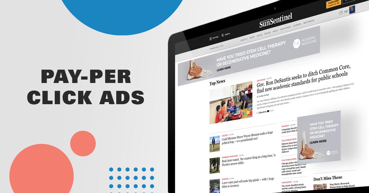 Pay Per Click Ads Management